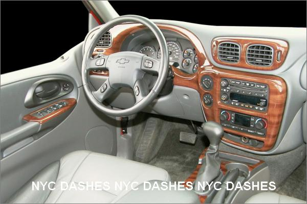 Brushed aluminum dash kit. - Chevy TrailBlazer ...